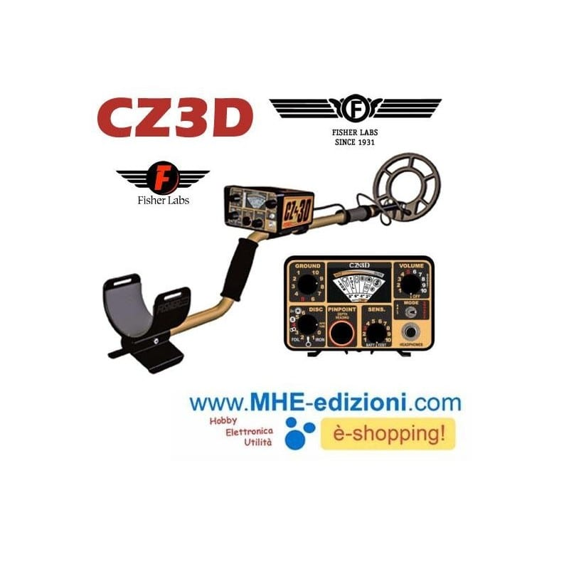 Fisher CZ 3D Metal Detector