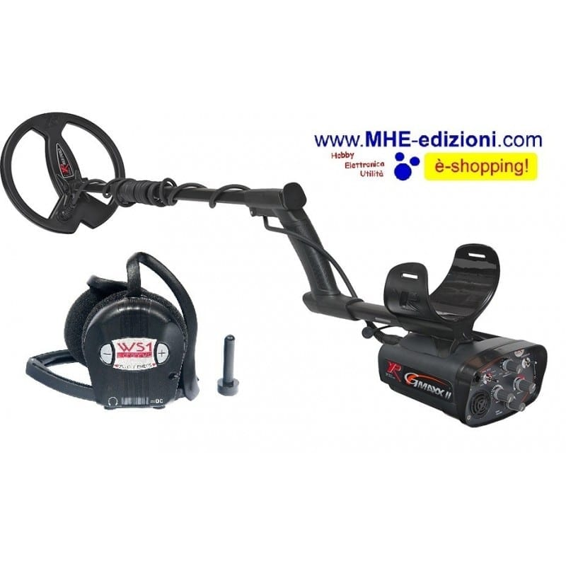 G-MAXX II XPlorer Metal Detector XP wireless