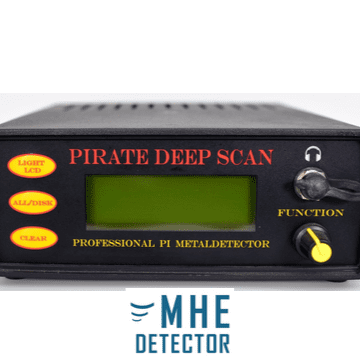 Pirate Deep Scan Metal Detector